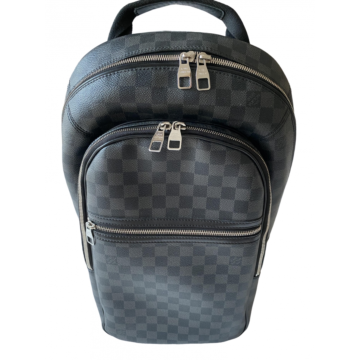 Louis Vuitton Michael Backpack Grey Cloth bag for Men \N