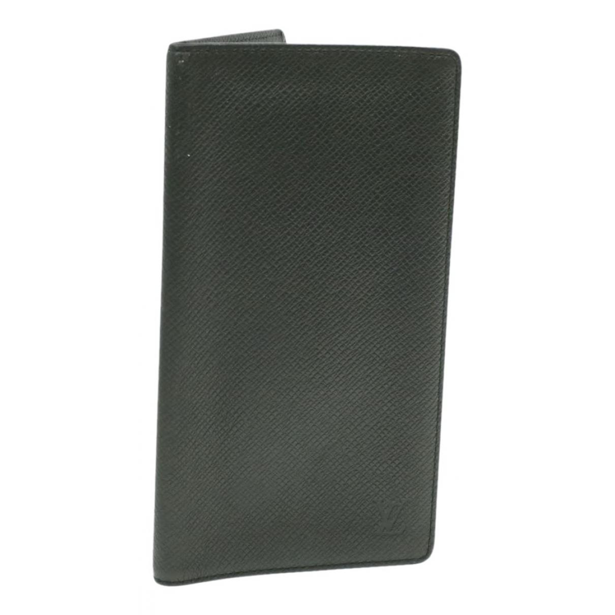 Louis Vuitton - Portefeuille   pour femme en toile - noir