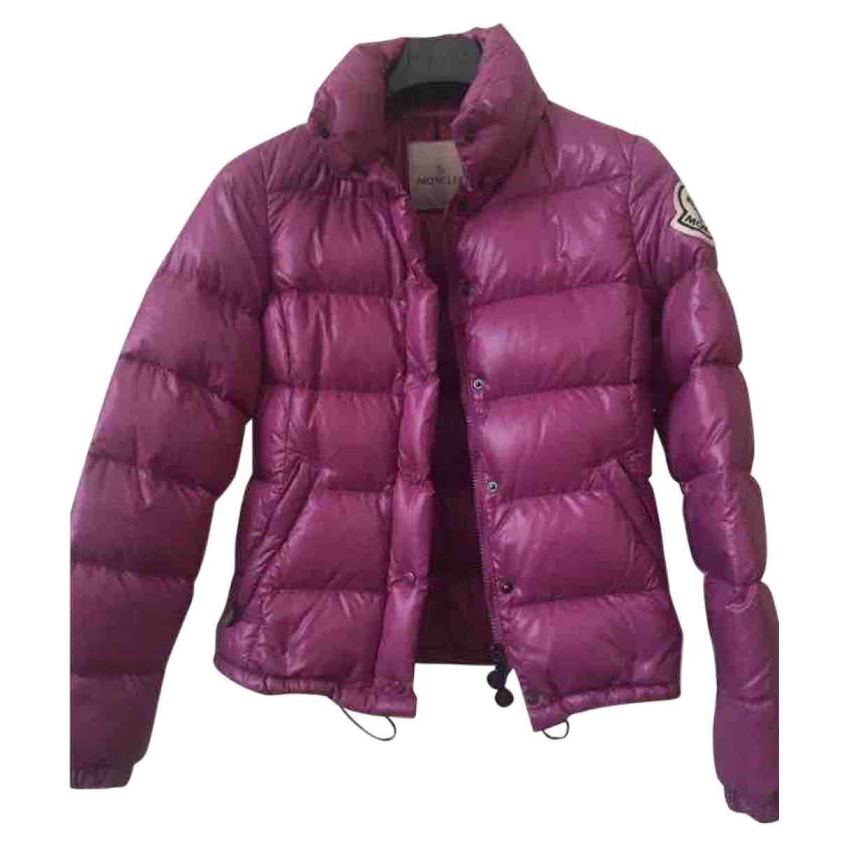 Moncler Classic Purple coat for Women 0 0-5