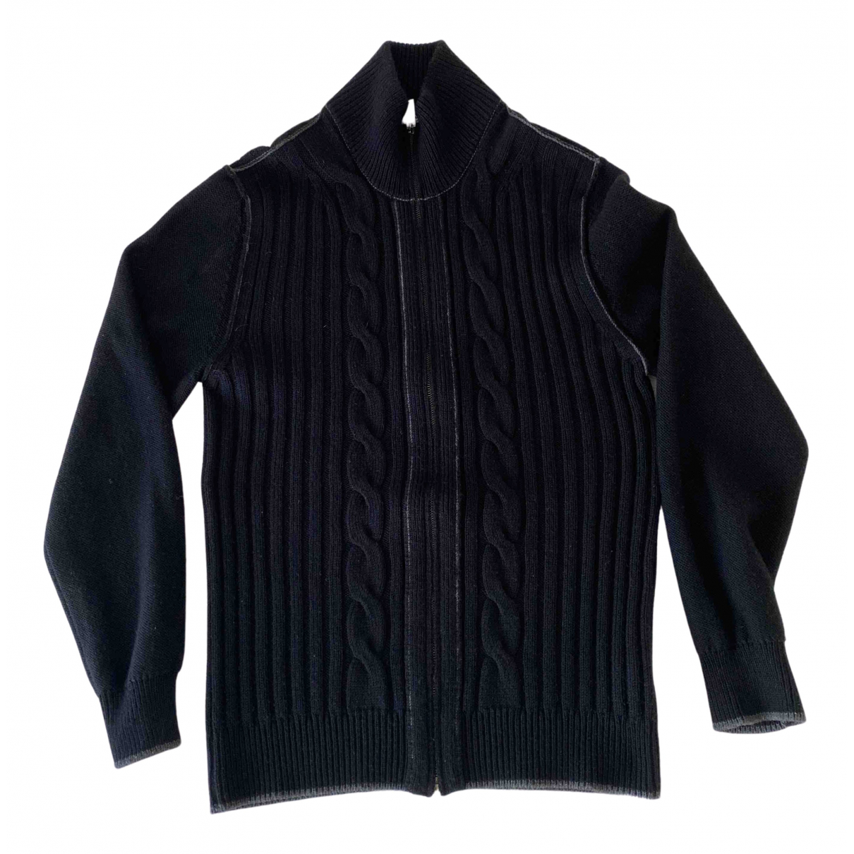 Moschino N Black Wool Knitwear & Sweatshirts for Men XL International