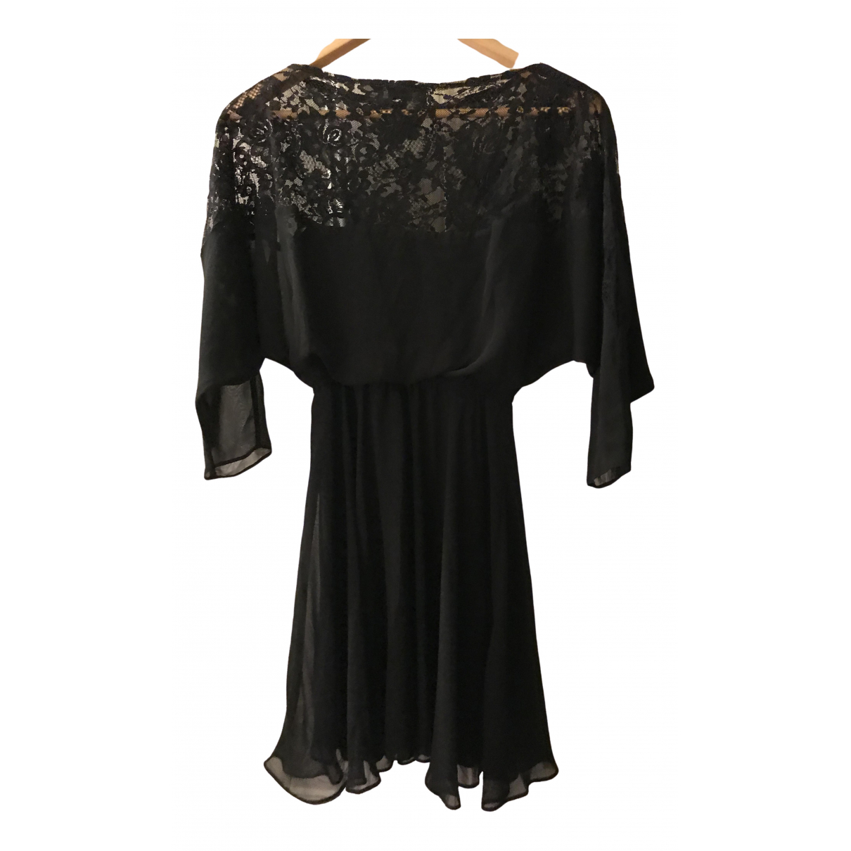 Asos \N Kleid in  Schwarz Polyester