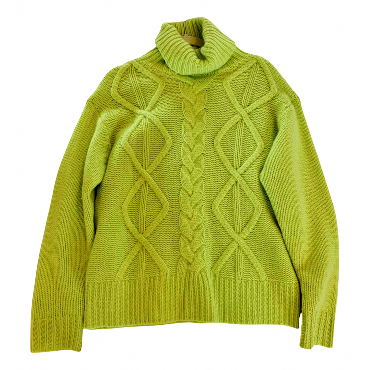 Non Signé / Unsigned N Green Cashmere Knitwear for Women S International