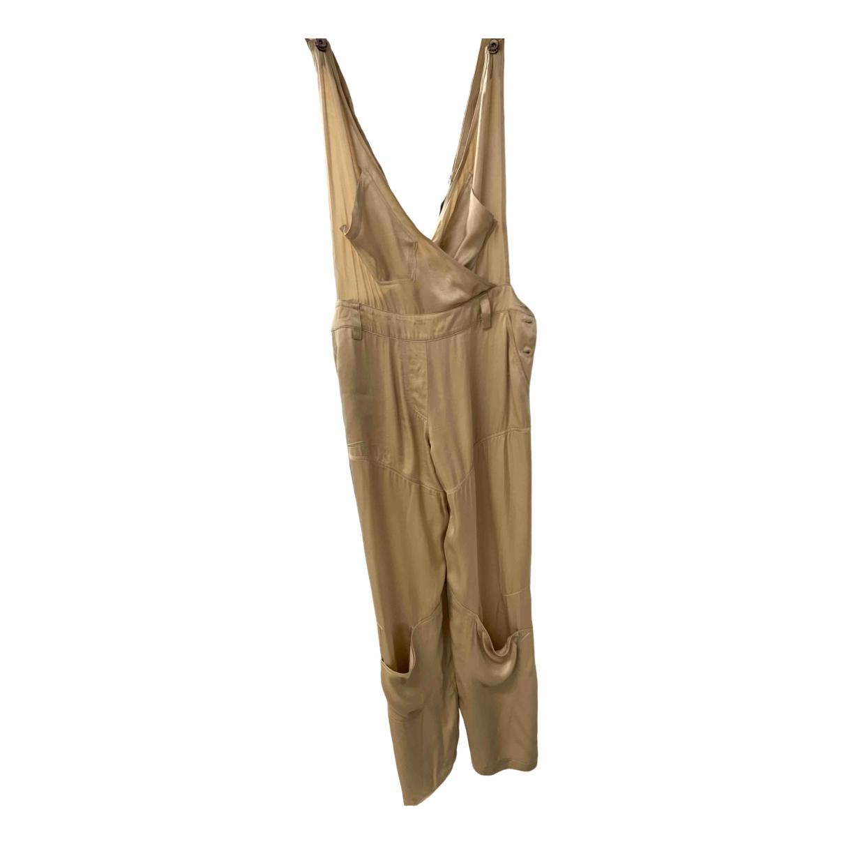 Plein Sud \N Gold jumpsuit for Women 38 FR