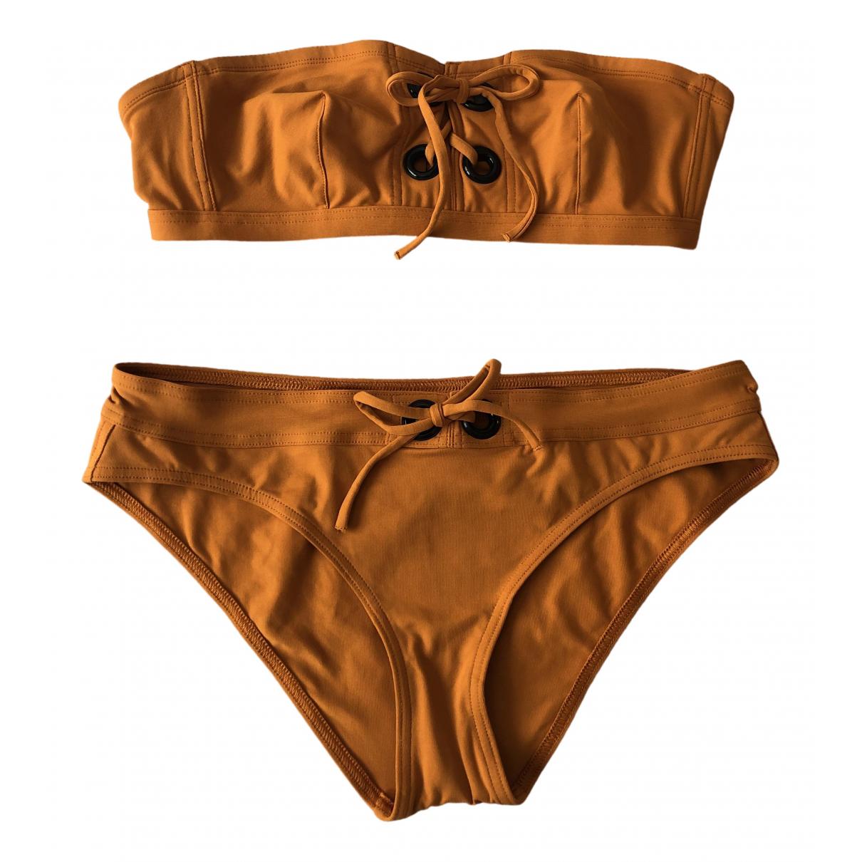 Eres \N Badeanzug in  Orange Lycra