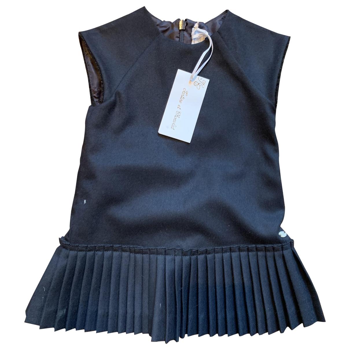 Tartine Et Chocolat - Robe    pour enfant en coton - bleu
