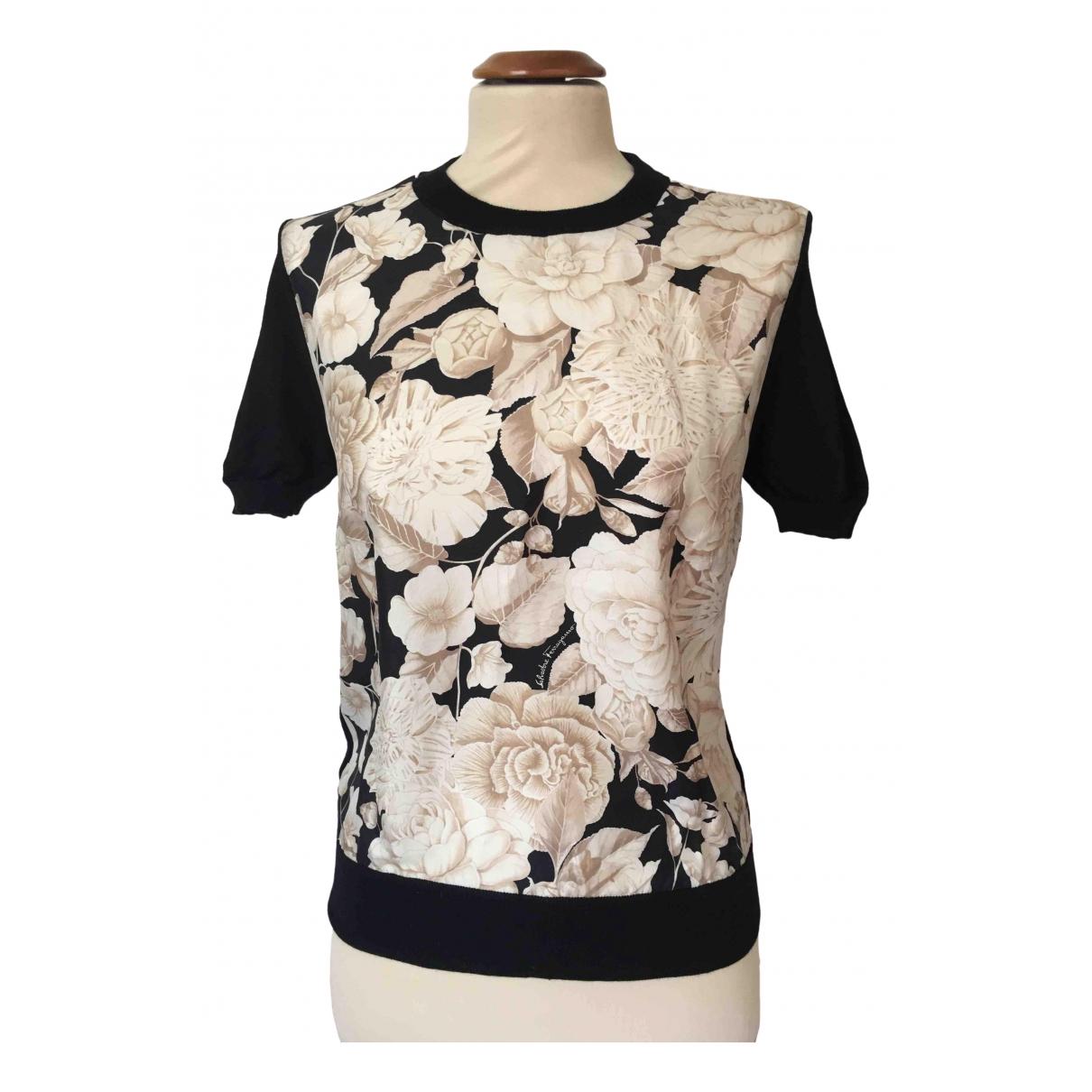 Camiseta de Seda Salvatore Ferragamo