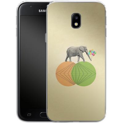 Samsung Galaxy J3 (2017) Silikon Handyhuelle - Balloney Fant von Mark Ashkenazi