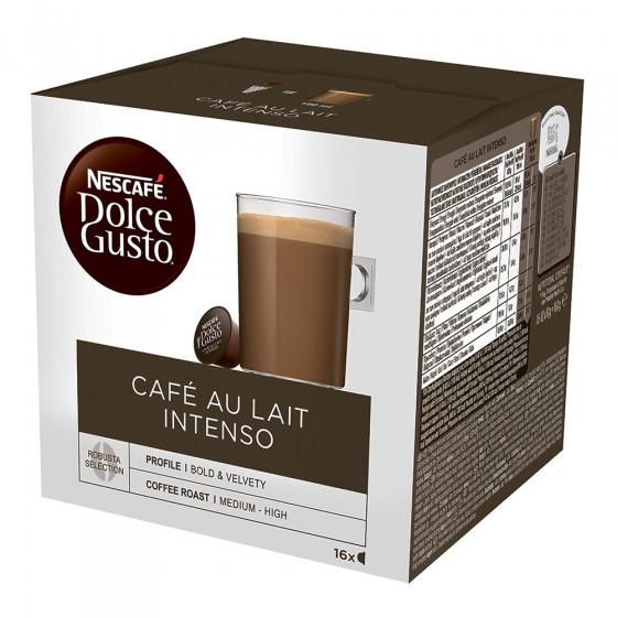 "Kaffeekapseln NESCAFE Dolce Gusto ""Cafe Au lait Intenso"", 16 Stk."