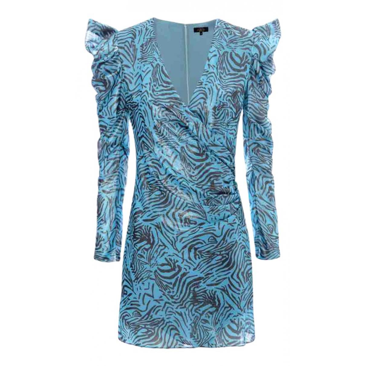 De La Vali \N Kleid in  Blau Polyester