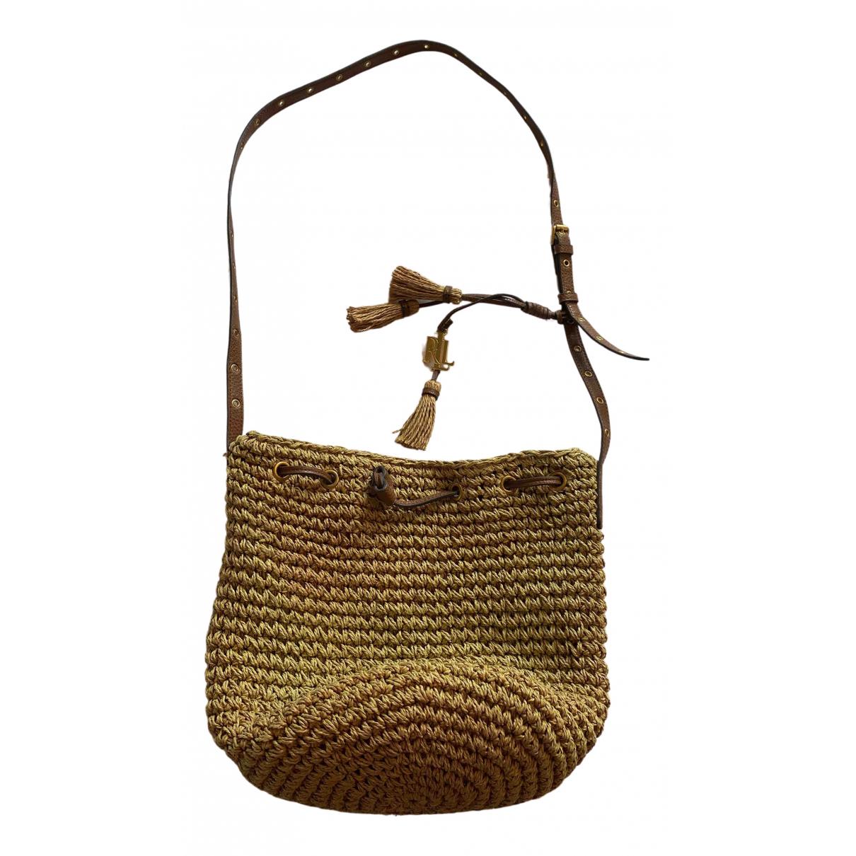 Lauren Ralph Lauren N Brown Wicker handbag for Women N