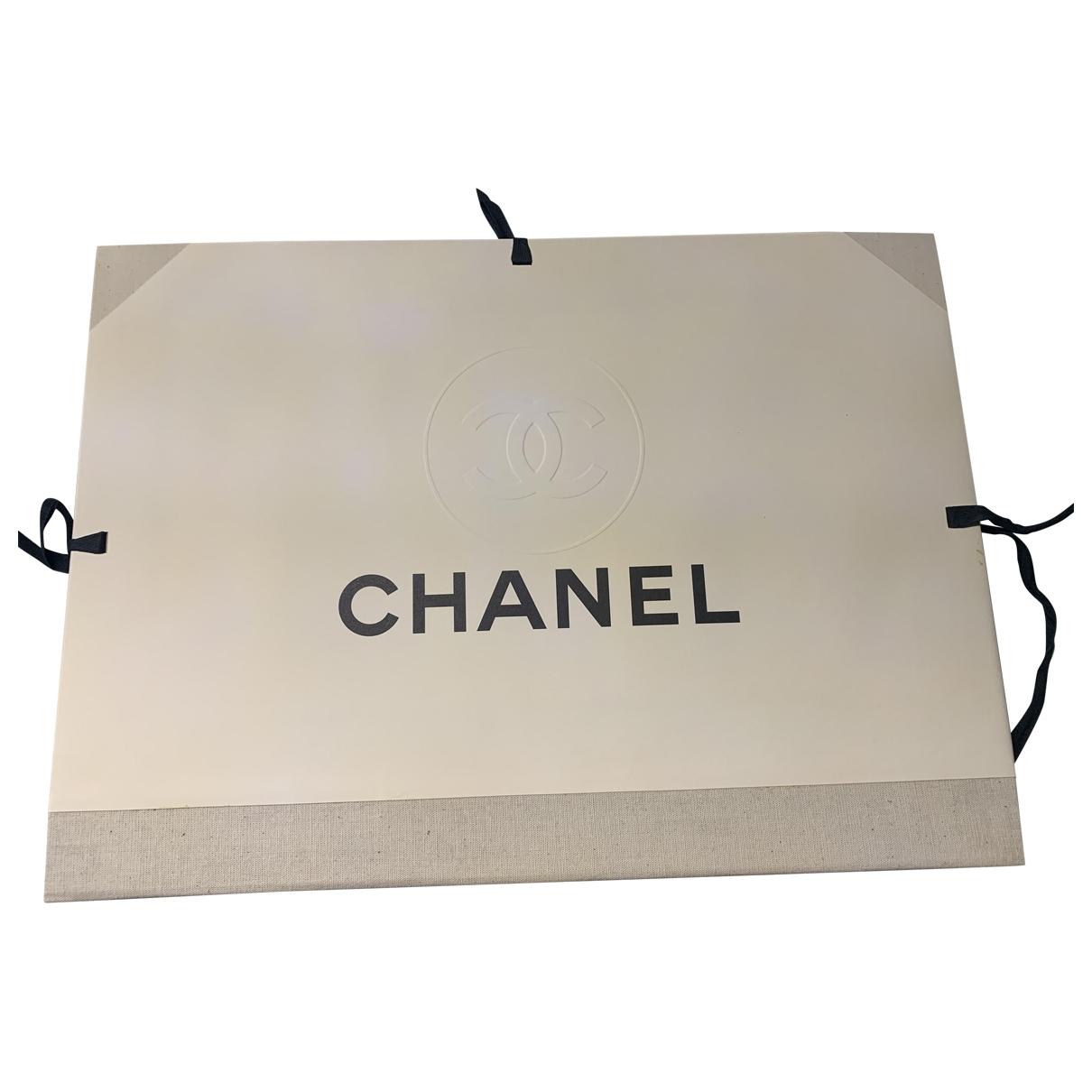 Chanel - Mode   pour lifestyle en coton - blanc