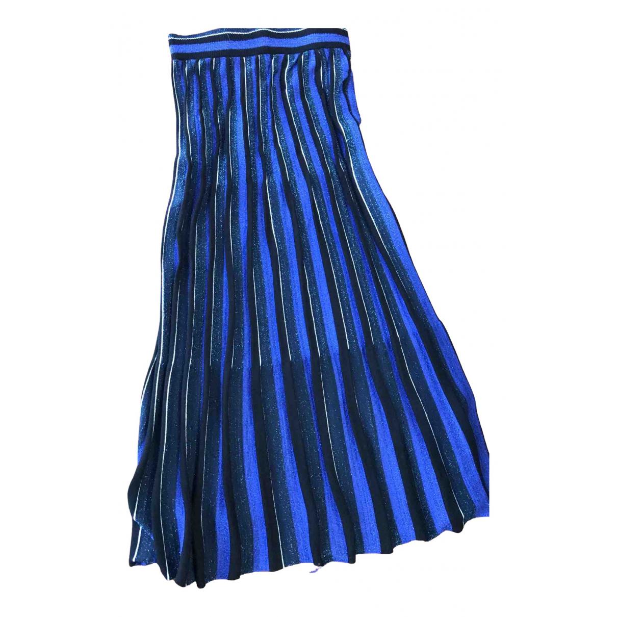 Zara \N Rocke in  Blau Baumwolle - Elasthan