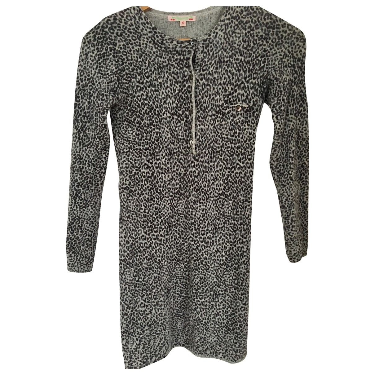 Bonpoint \N Grey Cashmere dress for Kids 10 years - up to 142cm FR