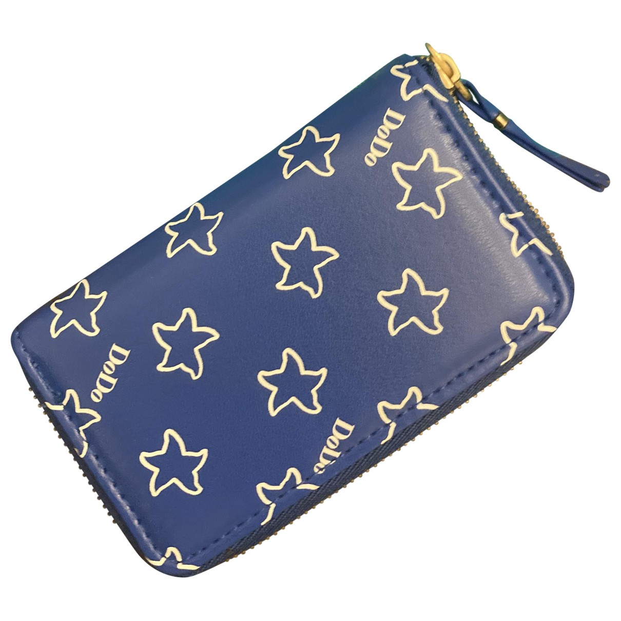 Dodo Pomellato N Blue Leather Purses, wallet & cases for Women N
