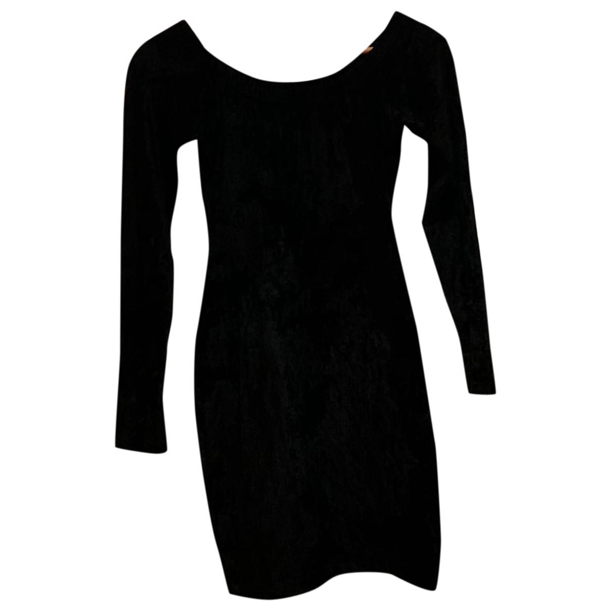 Sonia Rykiel \N Kleid in  Schwarz Samt