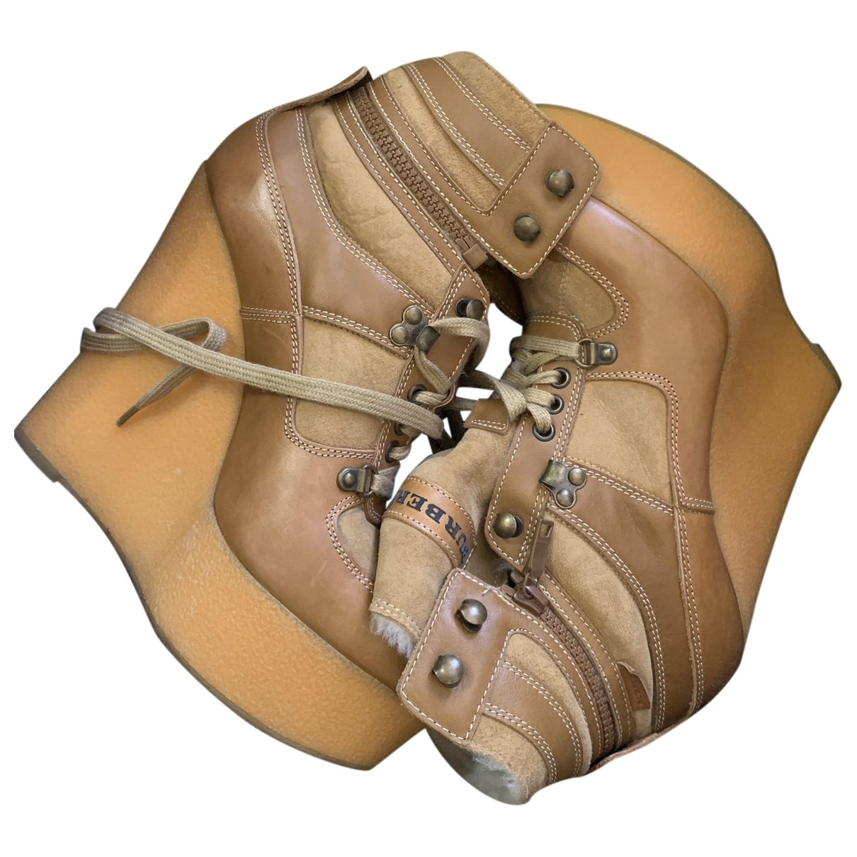 Botas de Cuero Burberry