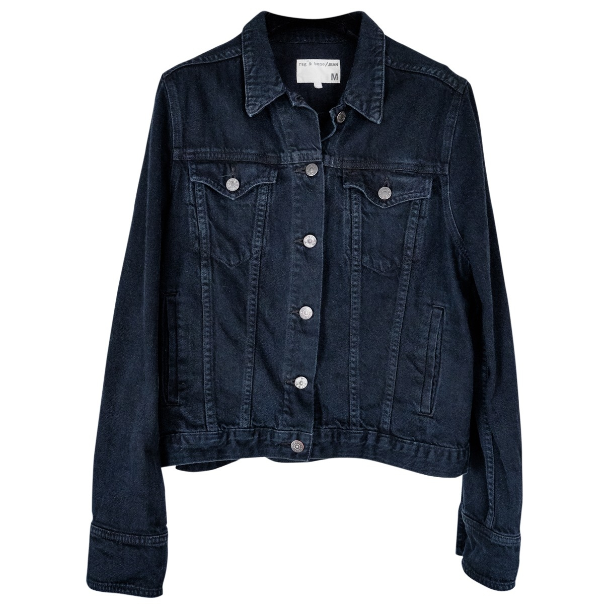 Rag & Bone \N Black Denim - Jeans jacket for Women M International