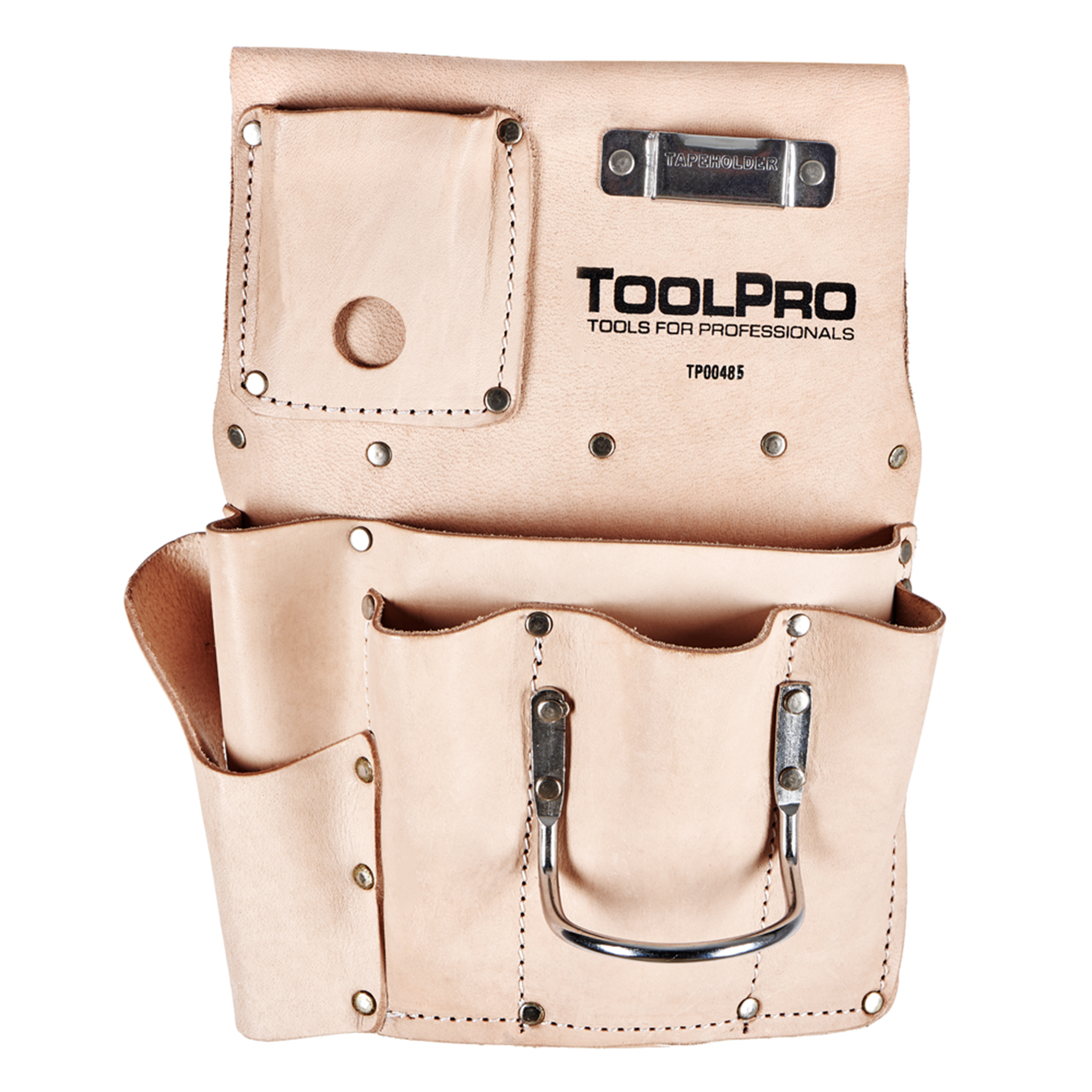 8-Pocket Drywall Pouch, Right Handed, Top Grain Leather