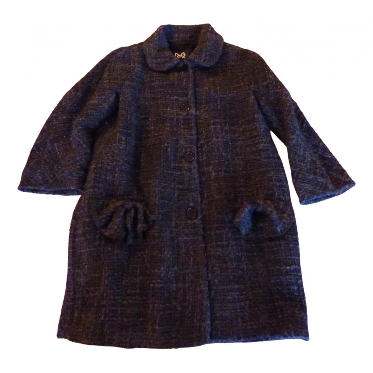 D&g - Manteau   pour femme en laine - anthracite