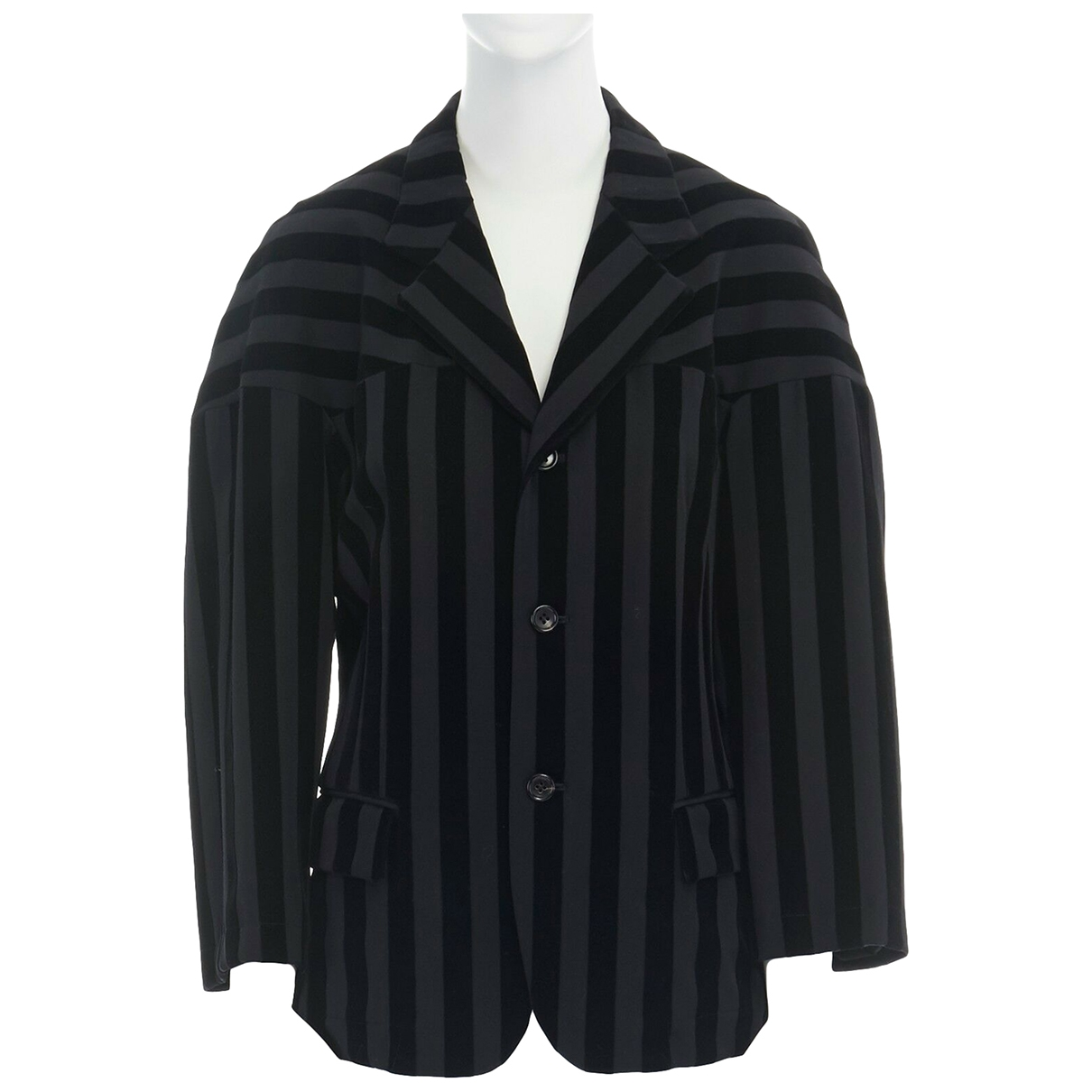 Comme Des Garcons \N Black Wool jacket for Women M International