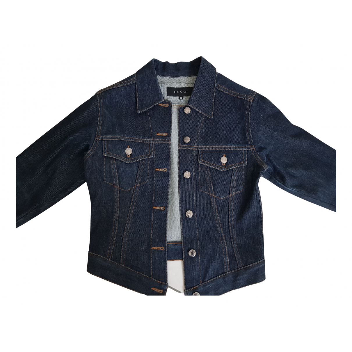 Gucci N Blue Denim - Jeans jacket for Women 38 IT