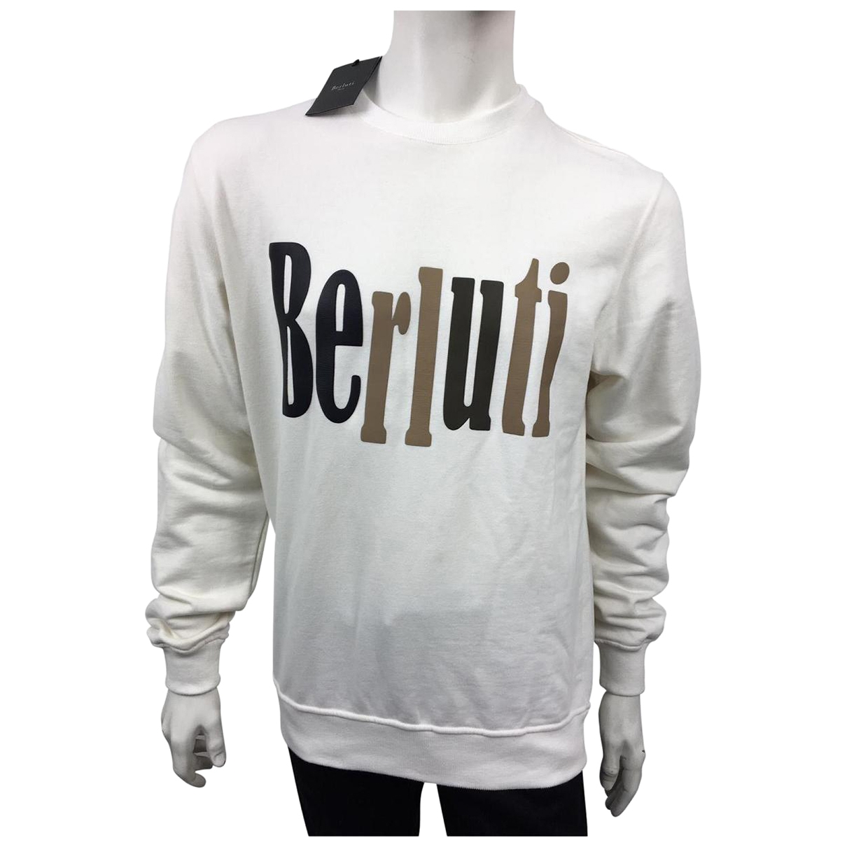 Berluti \N White Cotton Knitwear & Sweatshirts for Men L International