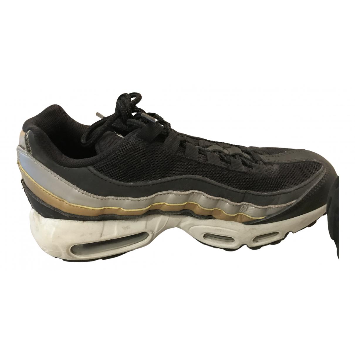 Nike - Baskets Air Max 95 pour femme en cuir - noir