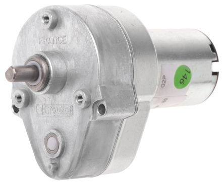 Crouzet , 12 V dc, 2 Nm, Brushed DC Geared Motor, Output Speed 54 rpm