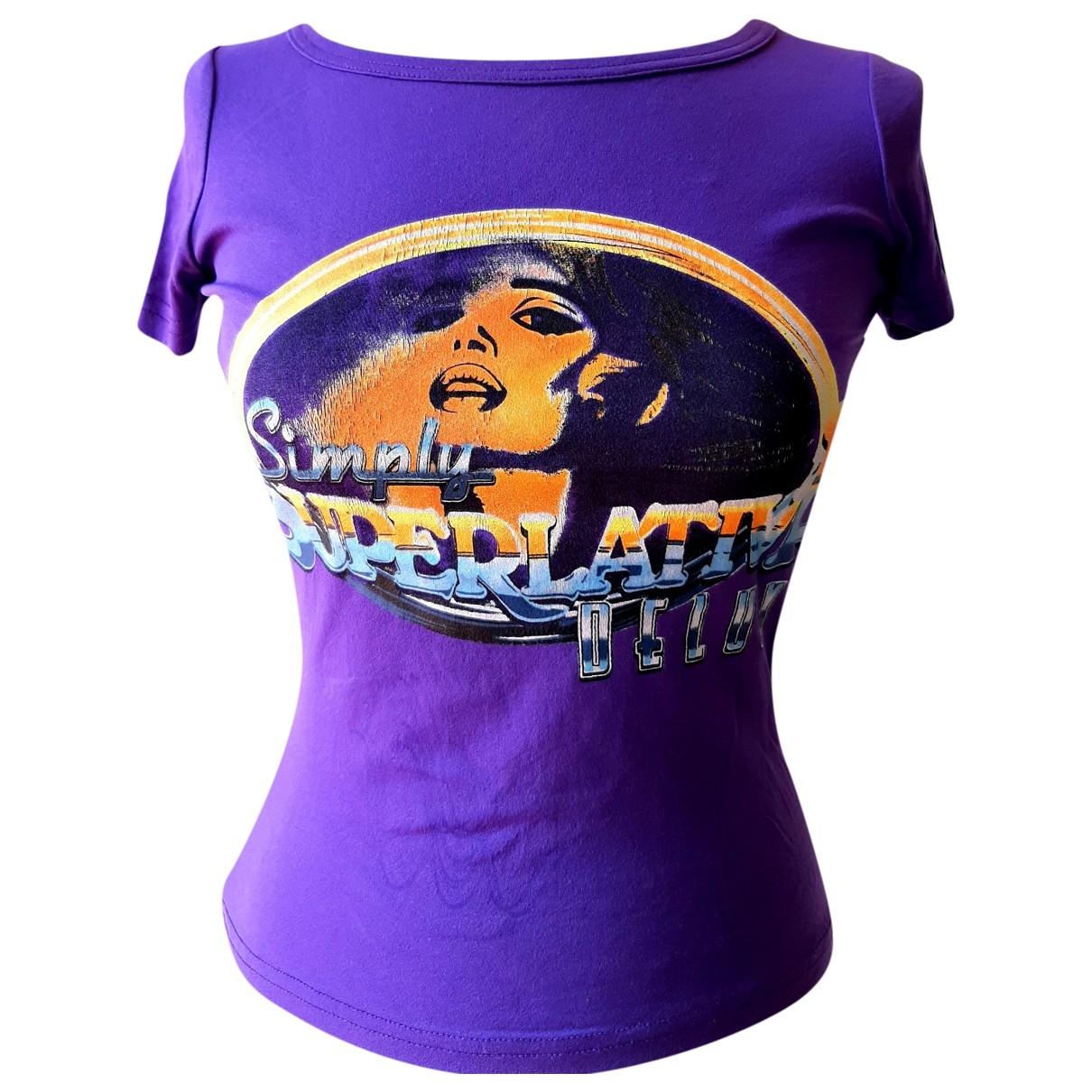 D&g - Top   pour femme - violet