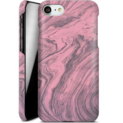 Apple iPhone 7 Smartphone Huelle - Pink Marble von Emanuela Carratoni