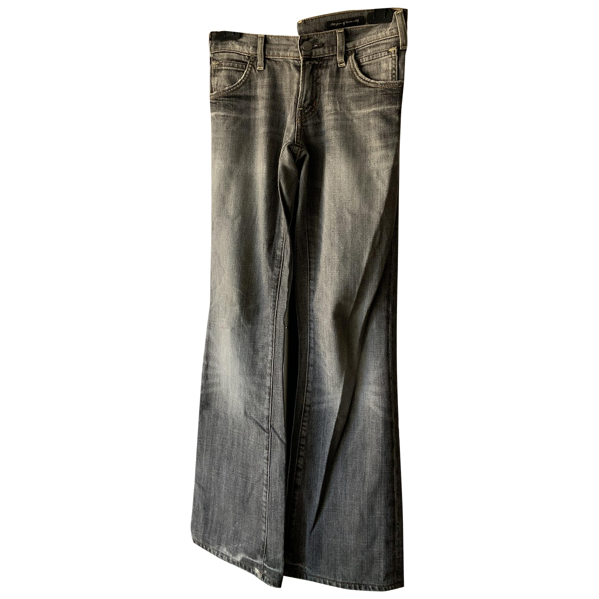 Citizens Of Humanity \N Grey Cotton Jeans for Women 27 US