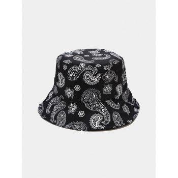 Paisley Print Casual Bucket Hat