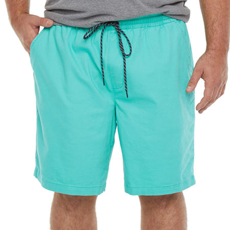 The Foundry Big & Tall Supply Co. Mens Pull-On Short-Big and Tall, X-large Tall , Green