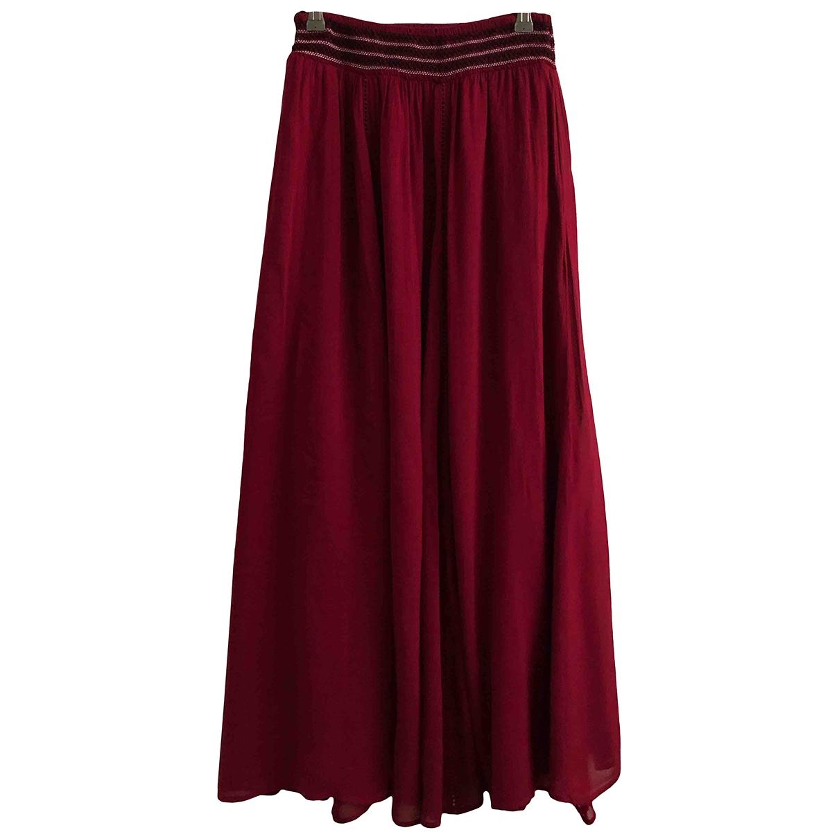 Zara - Jupe   pour femme - bordeaux