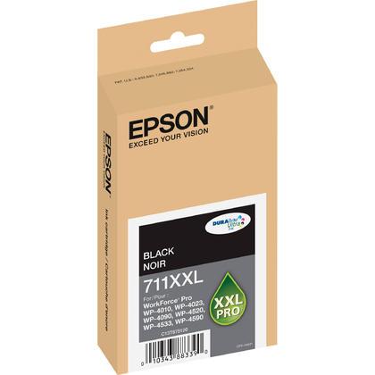 Epson 711XXL T711XXL120 cartouche dencre originale noire pigment