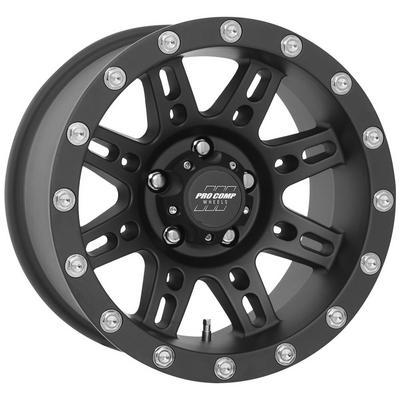 Pro Comp Series 7031, 18x9 Wheel with 5 on 150 Bolt Pattern - Flat Black - 7031-8955