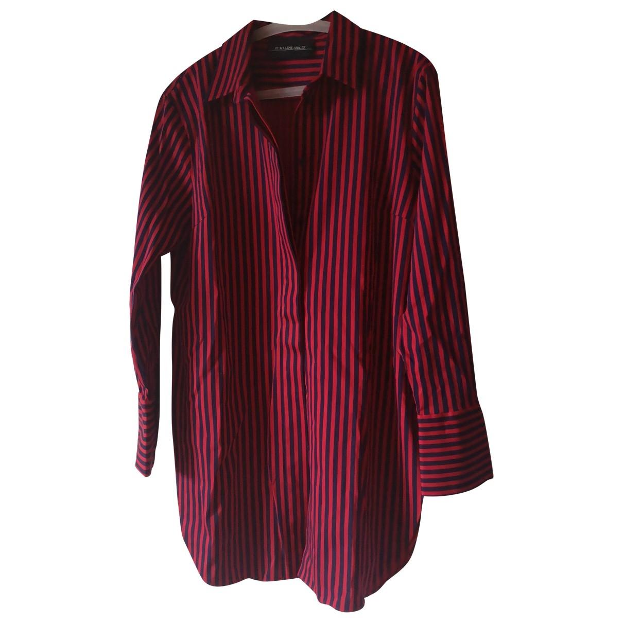 By Malene Birger \N Red Cotton dress for Women 36 FR