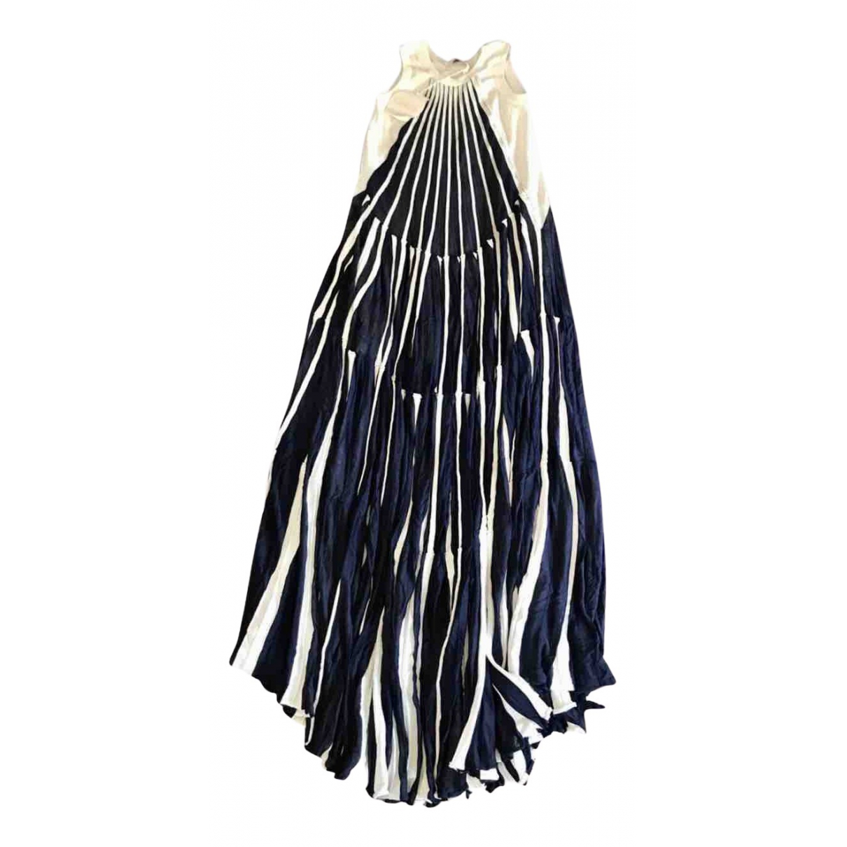 Chloe \N Kleid in  Blau Baumwolle