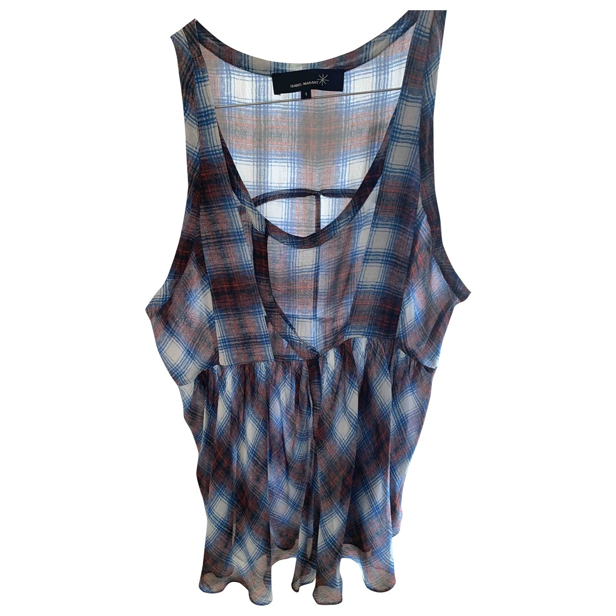 Isabel Marant \N Blue Silk  top for Women 1 0-5