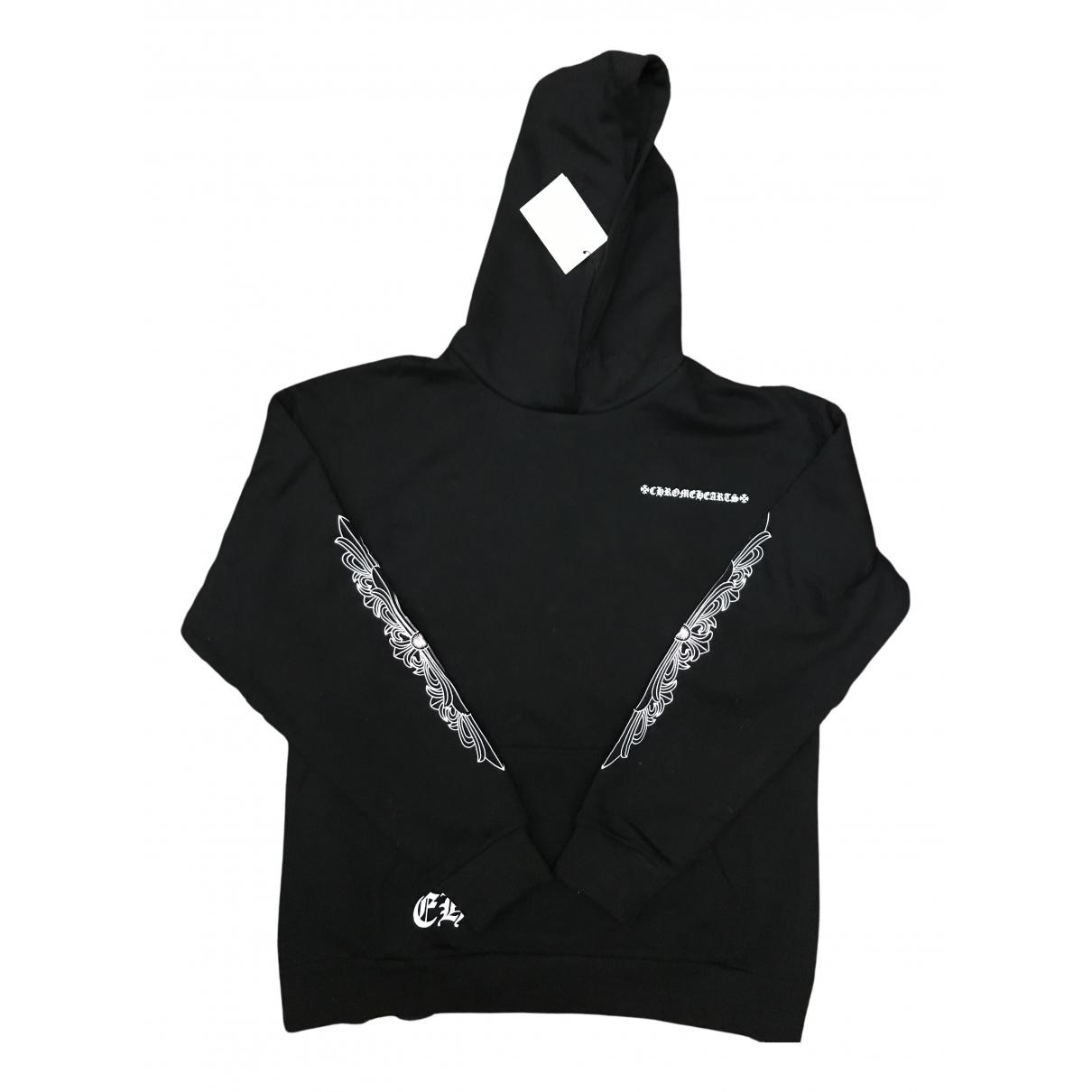 Chrome Hearts \N Pullover.Westen.Sweatshirts  in  Schwarz Baumwolle
