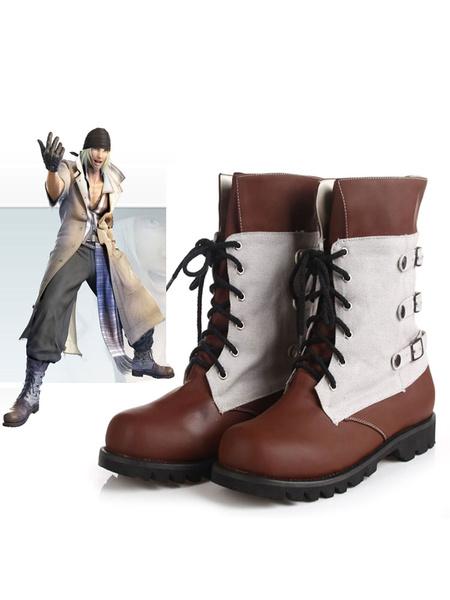 Milanoo Final Fantasy XIII Snow Halloween Cosplay Shoes