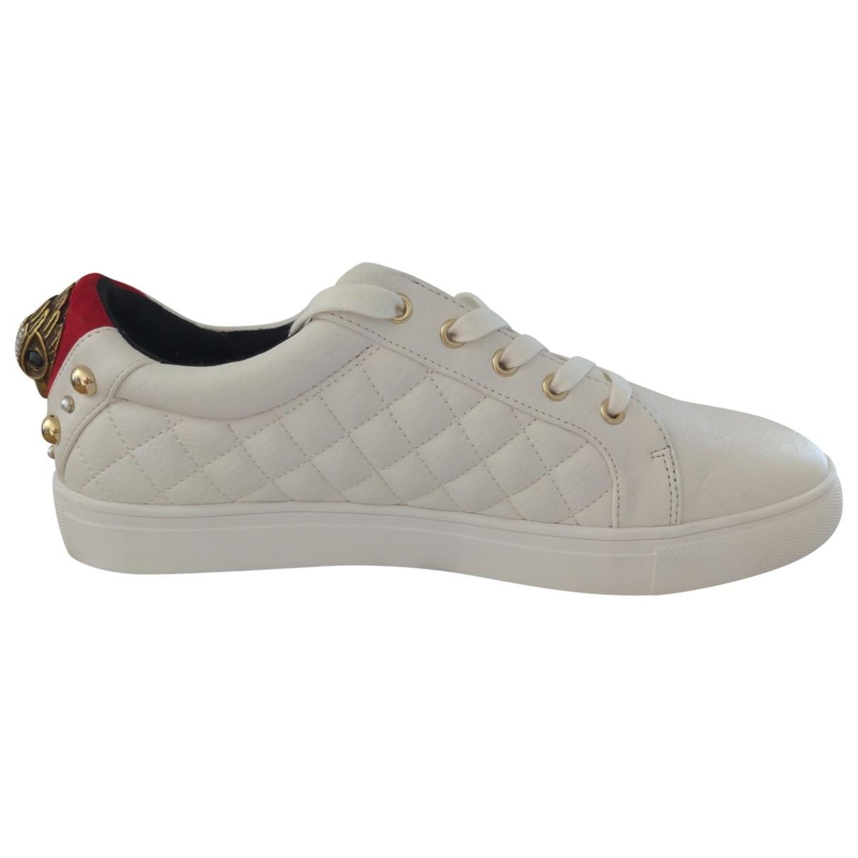 Kurt Geiger \N Sneakers in  Weiss Polyester