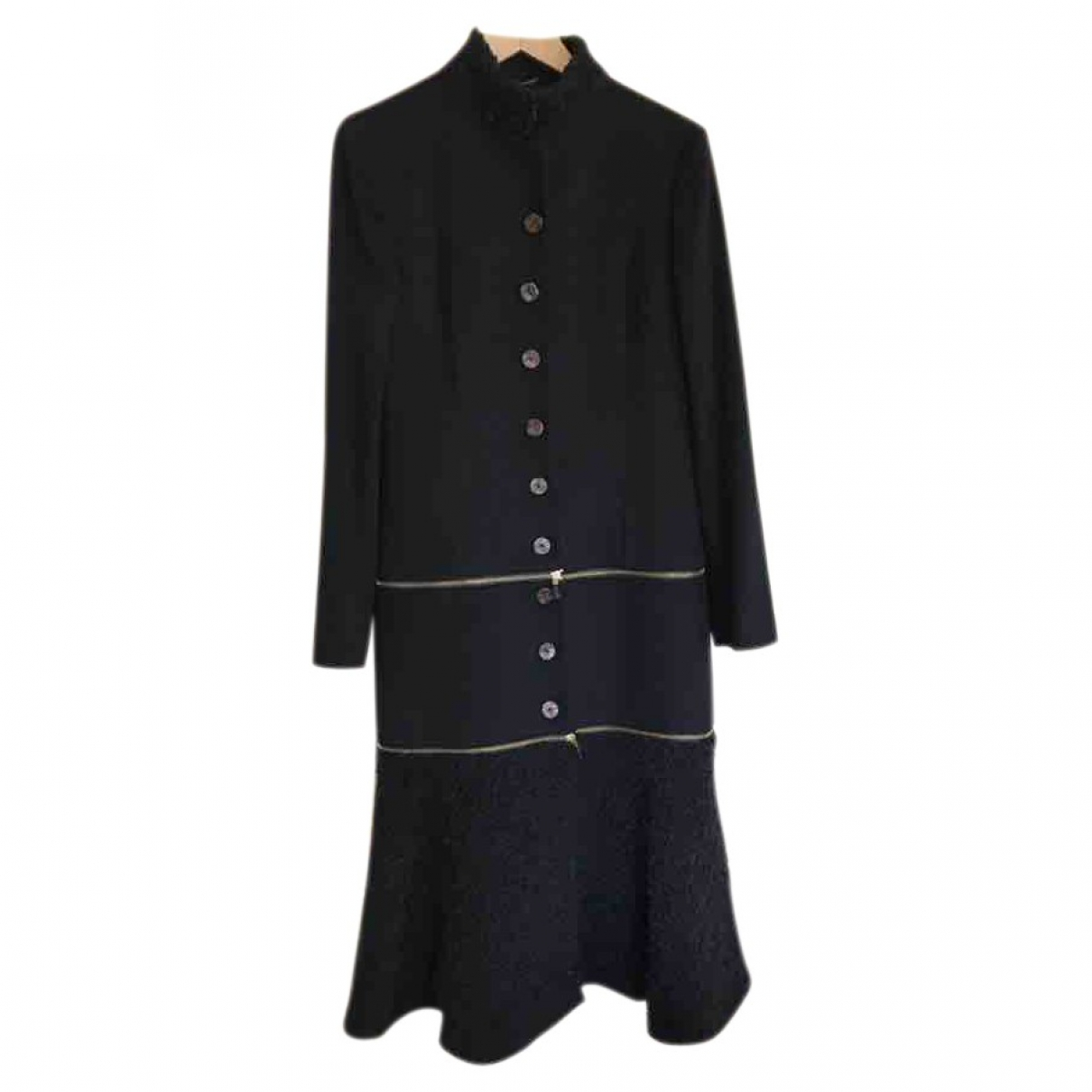 Alexander Mcqueen \N Black Cashmere coat for Women 42 FR