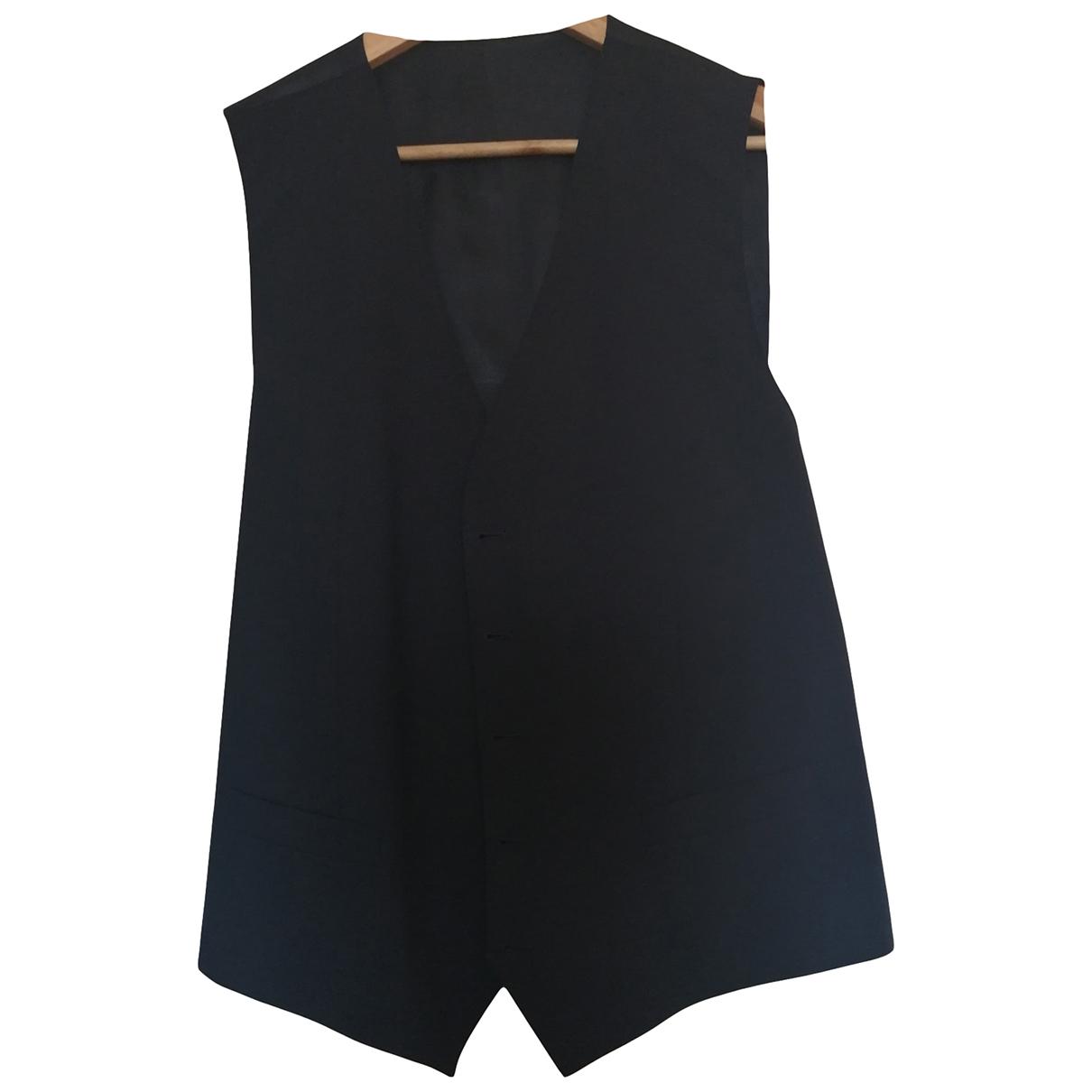 Dolce & Gabbana \N Pullover.Westen.Sweatshirts  in  Schwarz Seide
