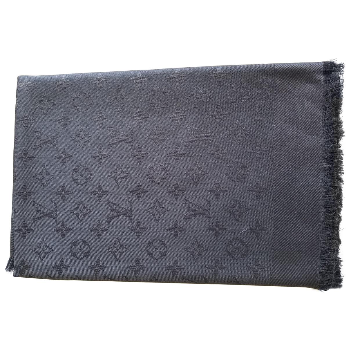 Estola Chale Monogram de Cachemira Louis Vuitton