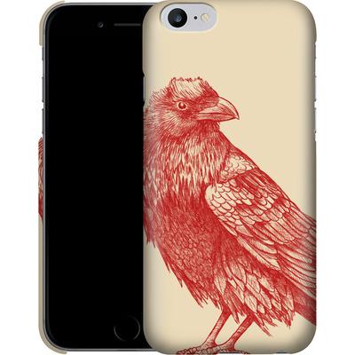 Apple iPhone 6 Plus Smartphone Huelle - Red Raven von Terry Fan