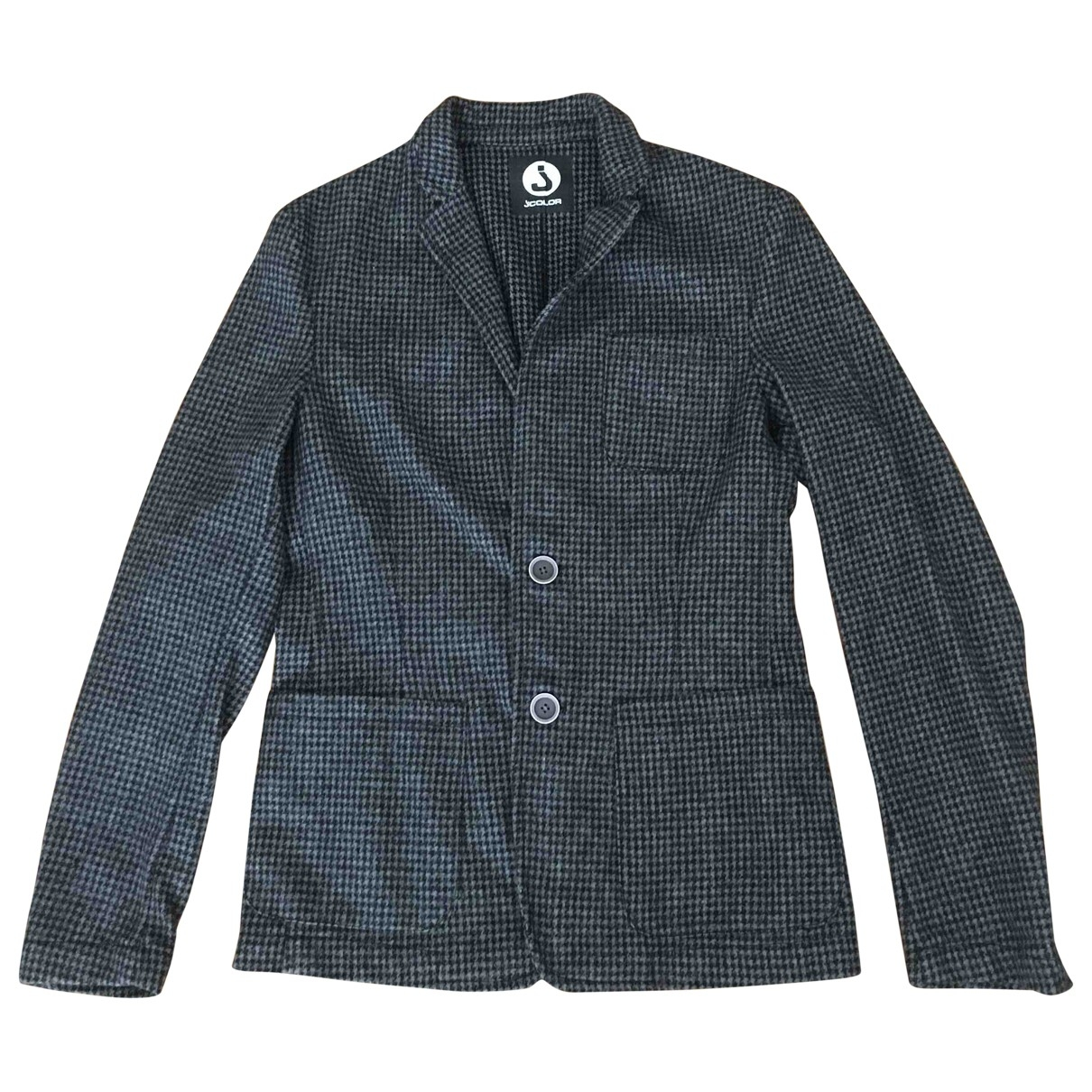 Non Signé / Unsigned \N Grey Wool jacket  for Men S International