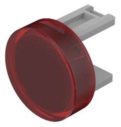 EAO Red Round Push Button Lens for use with 31 Series (5)