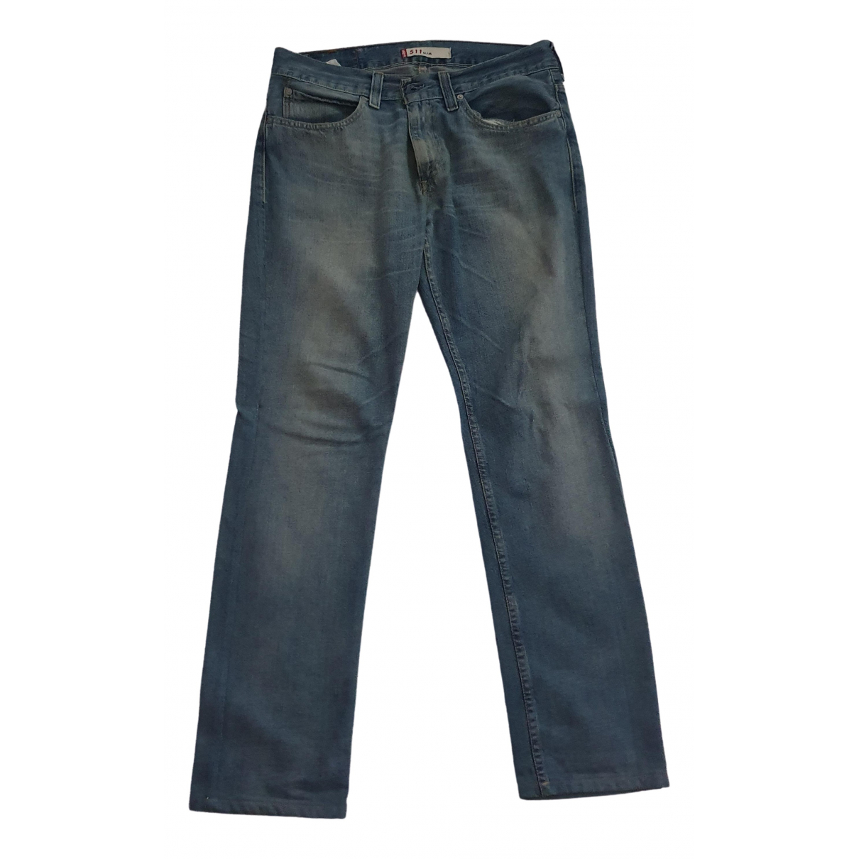 Levi's - Jean 511 pour homme en coton - gris
