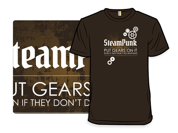 Steam Punk Logic T Shirt